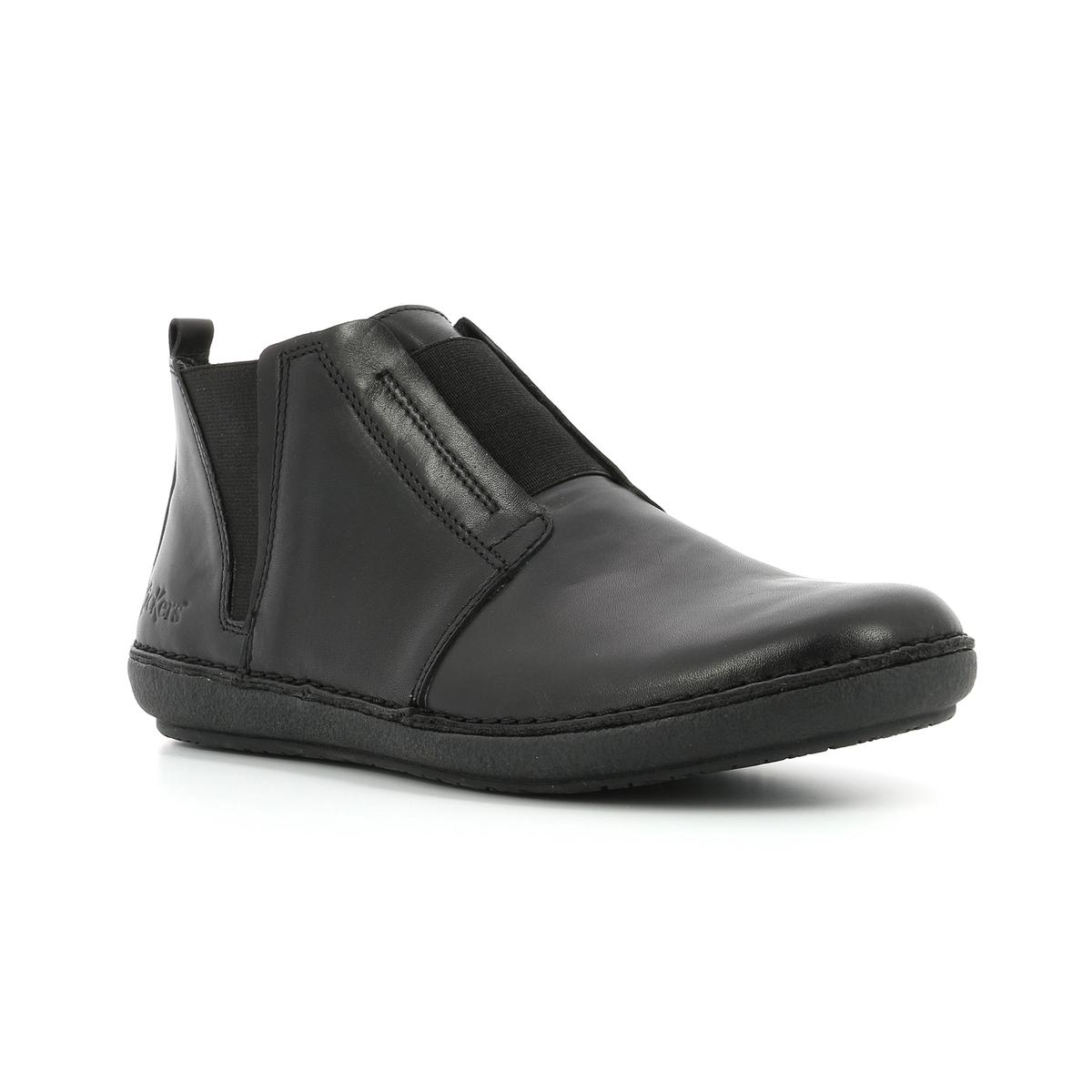 Imagen secundaria de producto de Zapatillas de caña alta de piel Fonzine - Kickers