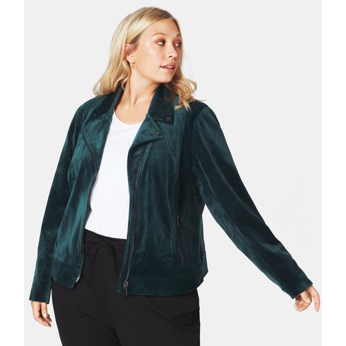 Жакет прямого покроя из замши рубашка прямого покроя большого размера с контрастными пуговицами