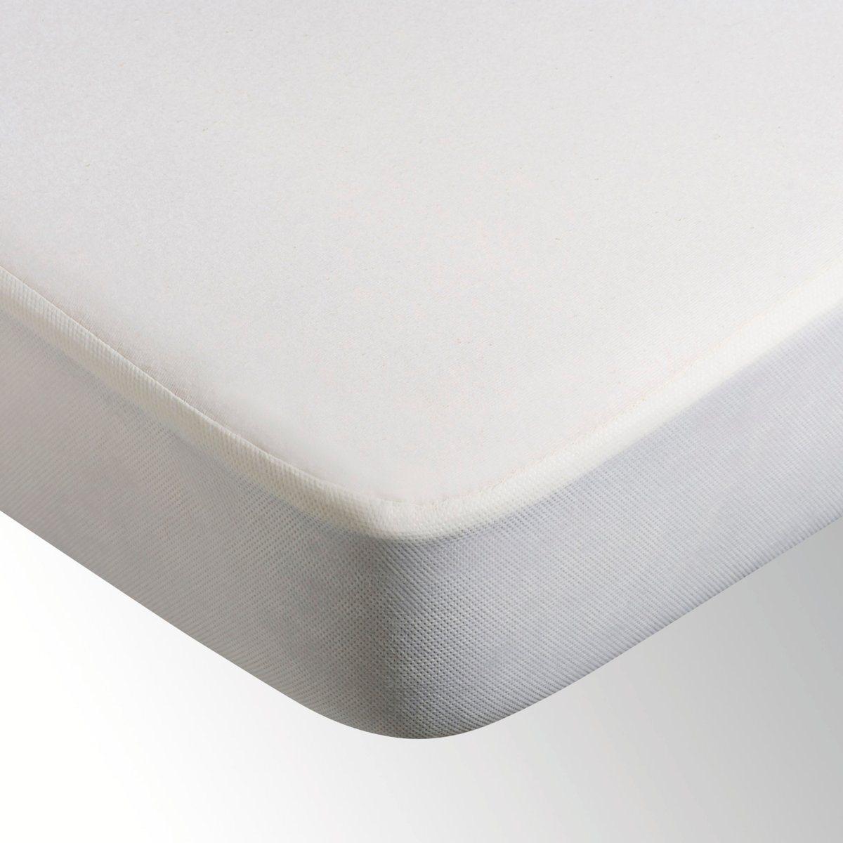 Чехол непромокаемый для матраса LA REDOUTEЗащитный чехол для матраса. Джерси, 100% биохлопка, 135 г/м?. Водоотталкивающая пропитка из полиуретана. Не препятствует циркуляции воздуха. Клапан из 100% полипропилена. Плотно облегает углы (клапан 27 см). Стирка при 60°.<br><br>Цвет: экрю