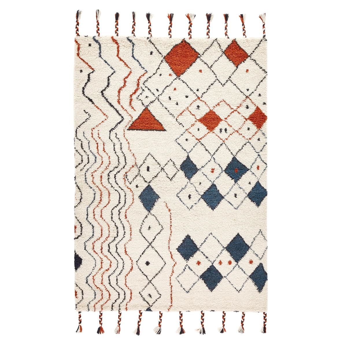 Ковер La Redoute В берберском стиле Melvida 200 x 290 см разноцветный