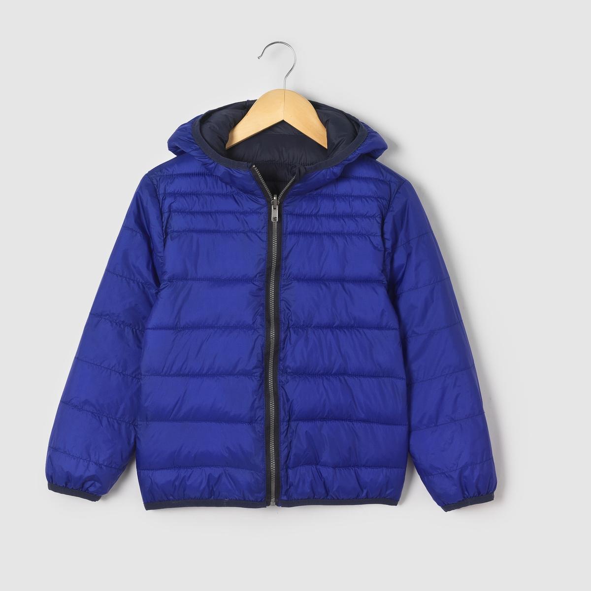 Куртка стеганая с капюшоном, двухсторонняя 3-12 летОписание:Детали •  Демисезонная модель •  Непромокаемая •  Застежка на молнию •  С капюшоном •  Длина : средняяСостав и уход •  100% полиэстер •  Подкладка : 100% полиэстер •  Наполнитель : 100% полиэстер •  Температура стирки 30° •  Сухая чистка и отбеливание запрещены •  Не использовать барабанную сушку •  Не гладитьДвухсторонняя легкая куртка: две стороны, две расцветки<br><br>Цвет: желтый/ хаки,темно-синий<br>Размер: 12 лет -150 см.10 лет - 138 см.8 лет - 126 см.6 лет - 114 см.5 лет - 108 см