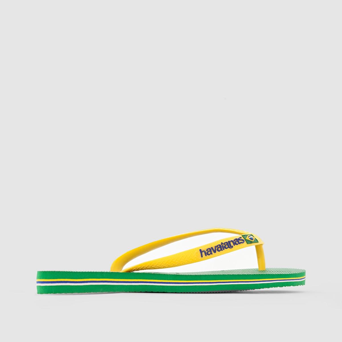 Вьетнамки Brazil LogoВерх : каучук               Стелька : каучук               Подошва : каучук               Застежка : без застежки               Преимущества : В этих вьетнамках, бразильский стиль  которых отражается  в мельчайших деталях, Вы с легкостью проходите весь сезон<br><br>Цвет: зеленый<br>Размер: 45/46
