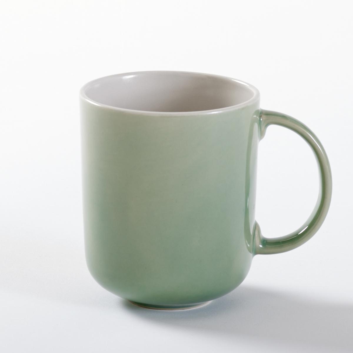 Комплект из 4 чашек из керамики, DEONIE комплект из 4 глубоких тарелок из керамики deonie
