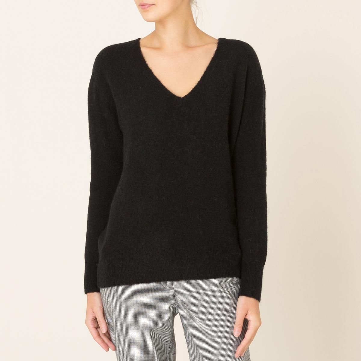 Пуловер TERIYAKIСостав и описание Материал : 42% шерсти, 42% полиамида, 14% альпаки, 2% эластана.Марка : HARRIS WILSON<br><br>Цвет: серый,черный