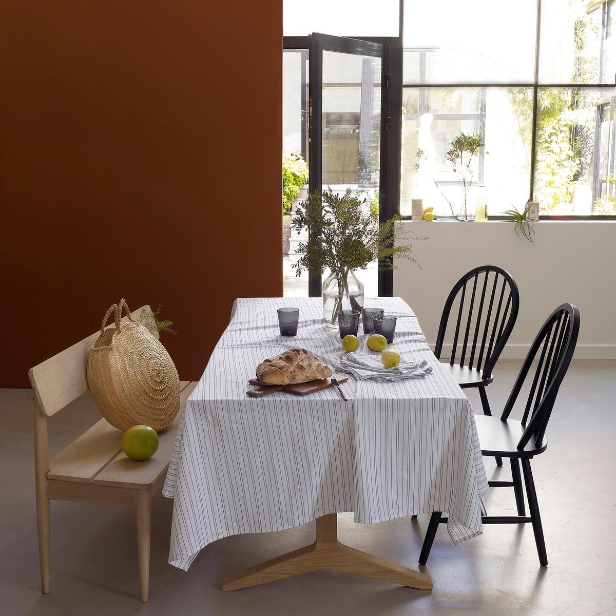 Toalha de mesa em algodão/linho lavado, UZES