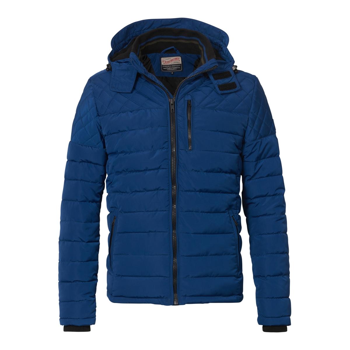 Куртка короткая с капюшоном, демисезонная модельДетали  •  Длина  : укороченная  •  Капюшон  •  Застежка на молнию  •  С капюшоном Состав и уход  •  100% полиэстер  •  Следуйте советам по уходу, указанным на этикетке<br><br>Цвет: черный,ярко-синий<br>Размер: XXL.XL.XXL