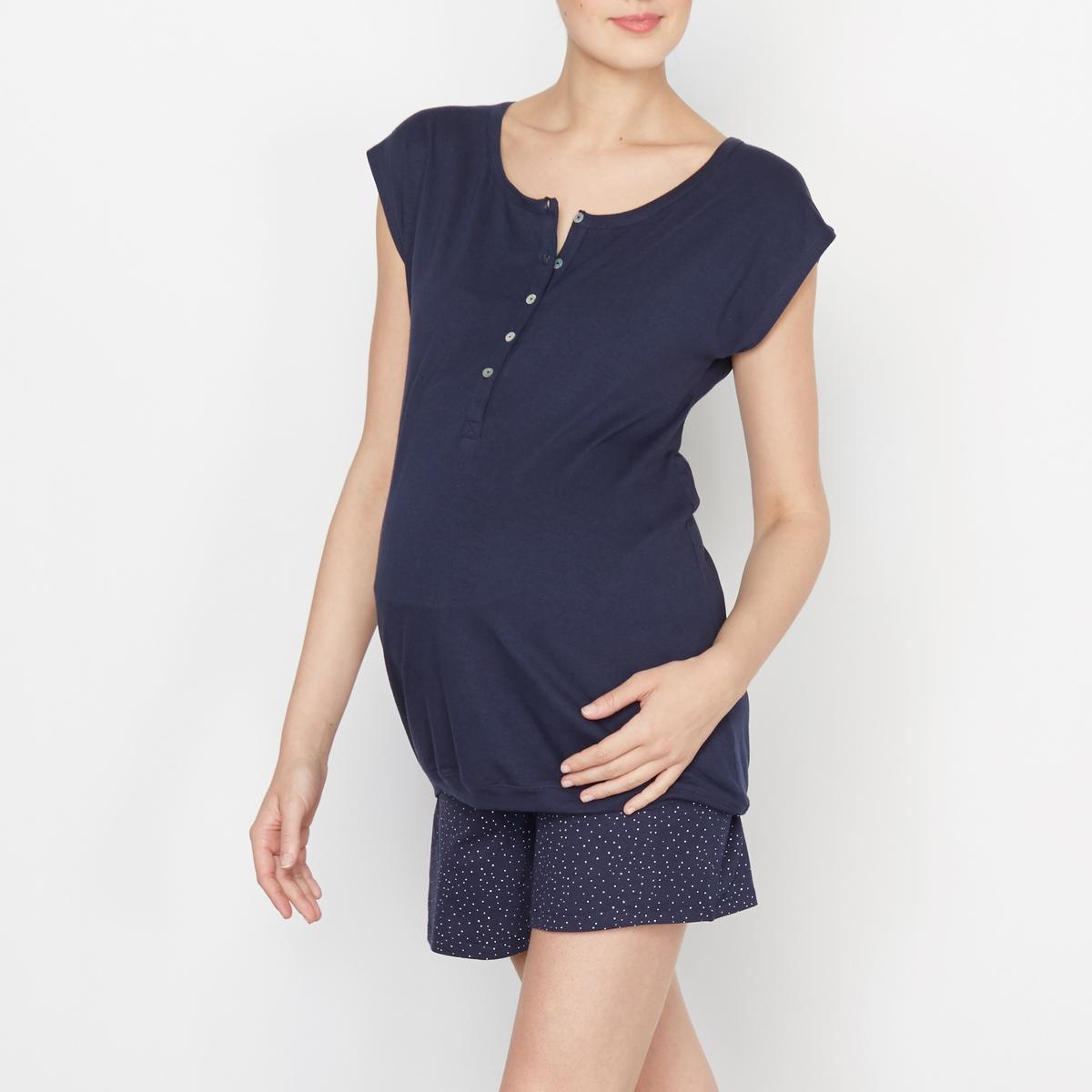 COCOON Пижама с шортами для периода беременности и кормления грудью