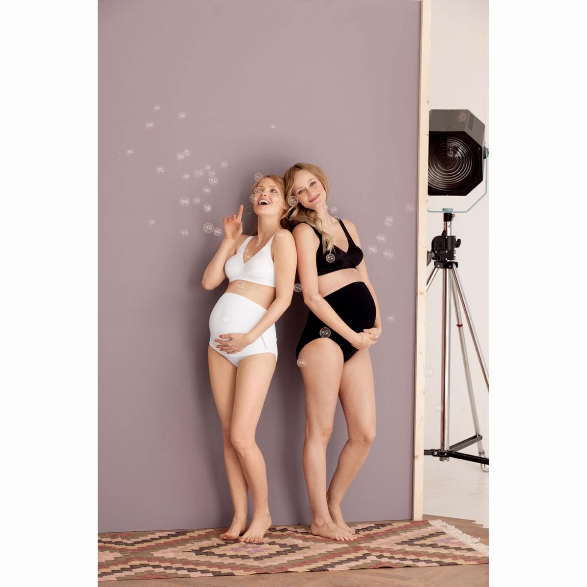 Бюстгальтер для беременных без косточек, BasicШирокие бретели на подкладке не оставляют следов на коже и дают ощущение мягкости.Эластичная и регулируемая задняя часть, 3 позиции.    Состав и описание :  Материал : микрофибра, 80% полиамида, 20% эластана  Бренд : ANITA Maternity    Уход :  Машинная стирка при 30° в мешке-сетке<br><br>Цвет: черный<br>Размер: 100 B (FR) - 85 B (RUS)