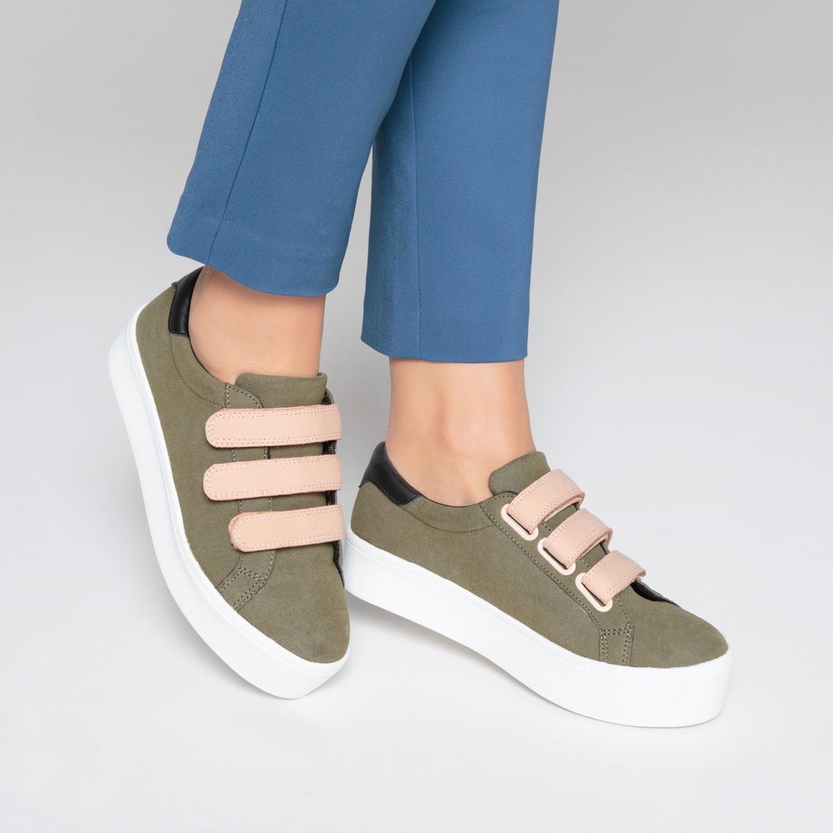 zapatillas Zapatillas con plataforma y presillas autoadherentes