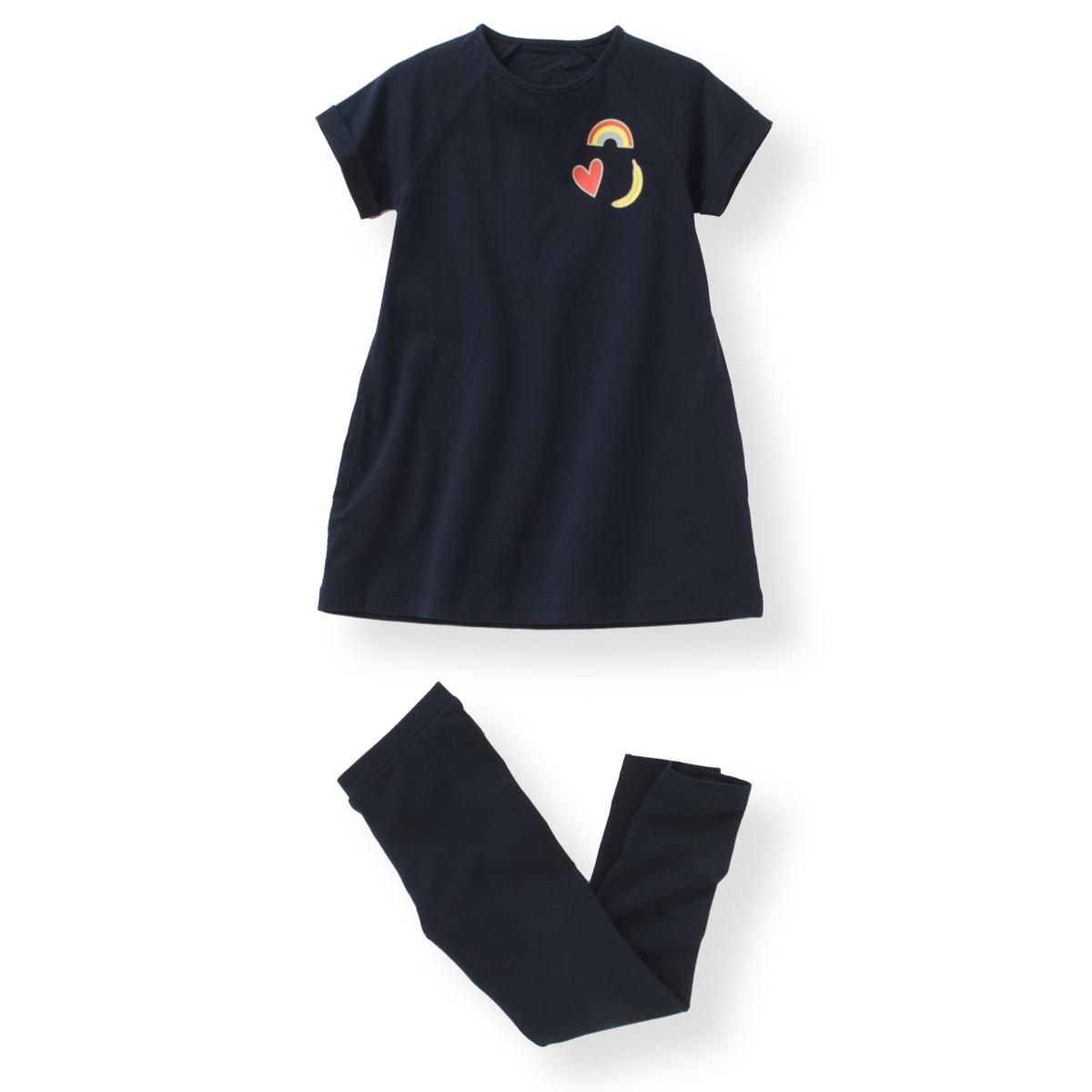Комплект из туники и брюк, 3-12 лет