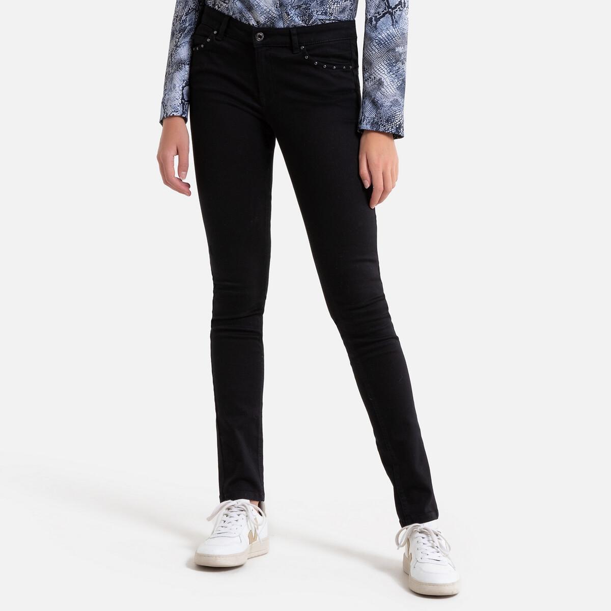 Джинсы La Redoute Узкие SCULPT UP 38 (FR) - 44 (RUS) черный джинсы la redoute узкие для периода беременности 36 fr 42 rus серый