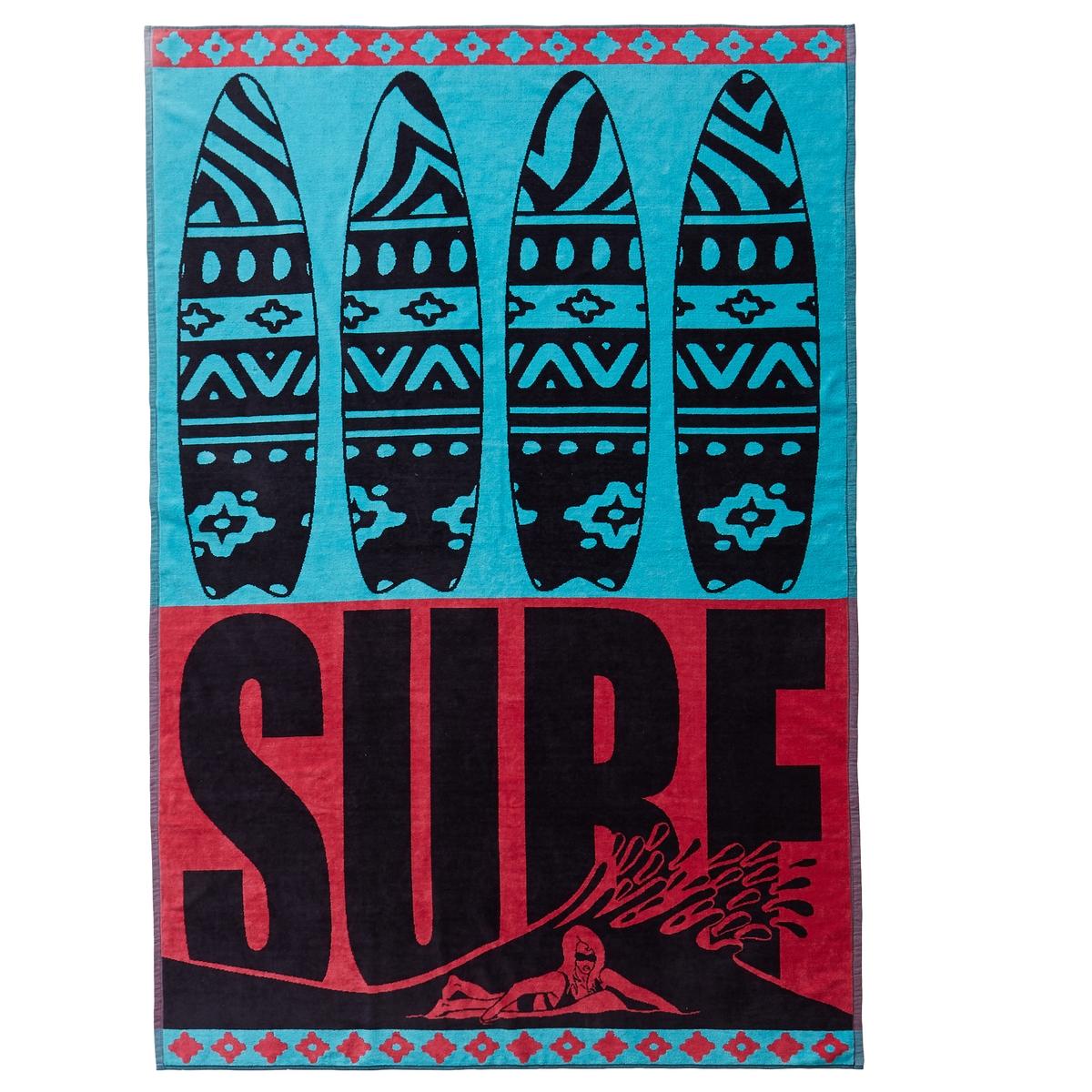 Полотенце пляжное XL BondiПолотенце пляжное с жаккардовым рисунком XL BondiХарактеристики пляжного полотенца XL Bondi :Махровая ткань из велюра с жаккардовым рисунком, 100% хлопок.420 г/м?.Машинная стирка при 60 °С.Размеры пляжного полотенца XL Brisaca :140 x 200 см.<br><br>Цвет: синий/ розовый