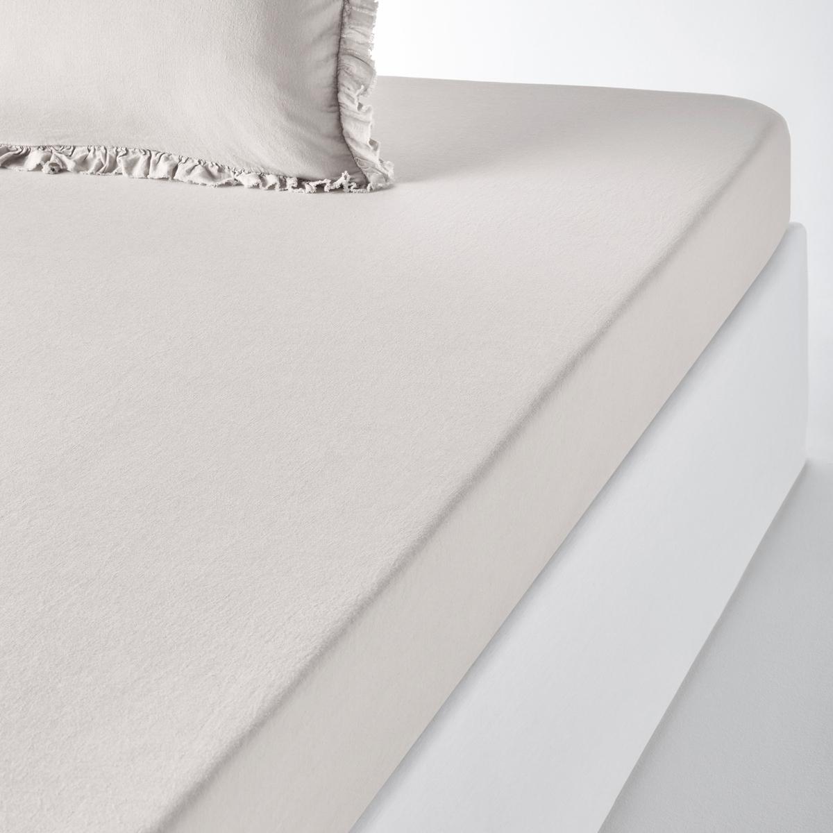 Натяжная простыня из льна и хлопка , NILLOWНатяжная простыня из льна и хлопка Nillow качество Qualit? Best. Благородный и элегантный материал из льна и хлопка в нежных и теплых тонах. Очарование и сияющая красота постельного белья Nillow.Характеристики натяжной простыни Nillow : Смесовый материал: 60% льна, 40% хлопка : мягкая и элегантная ткань из льна и хлопка с легким жатым эффектом проста в уходе. Ширина клапана 30 см. Стирать при температуре 40°, можно не гладитьХарактеристикиВесь комплект постельного белья Nillow Вы найдете на laredoute.ruЗнак Oeko-Tex® гарантирует, что товары прошли проверку и были изготовлены без применения вредных для здоровья человека веществ.ХарактеристикиРазмеры : 90 x 190 см : 1-сп. 140 x 190 см : 2-сп. 160 x 200 см : 2-сп. 180 x 200 см : 2-сп.<br><br>Цвет: бежевый,белый,розовая пудра,серо-голубой,серо-фиолетовый<br>Размер: 180 x 200  см