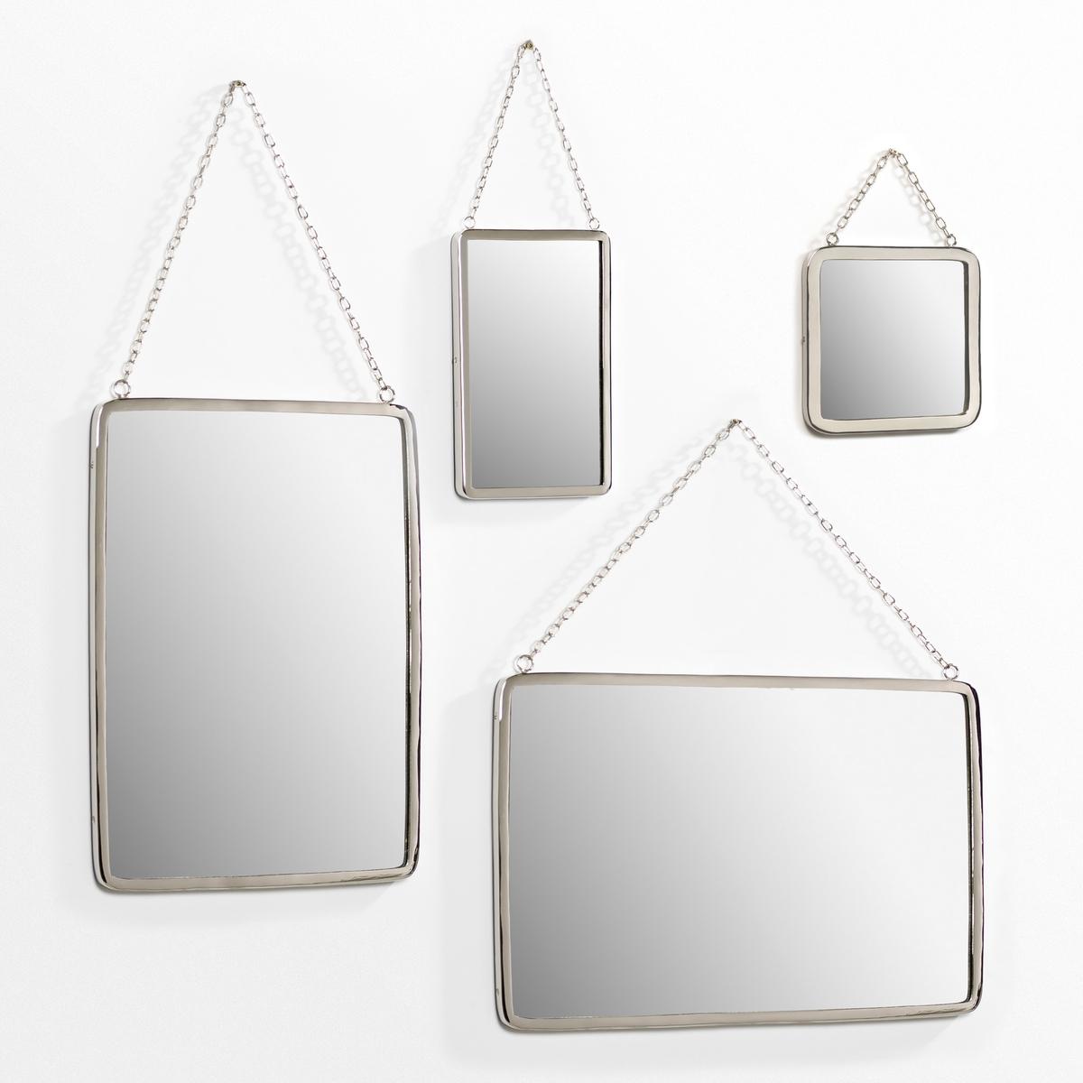 Зеркало квадратное Д20 x В20 см, BarbierЗеркало в старинном стиле. Характеристики: :- Рамка из никелированной латуни .- Цепочка-подвеска из металла с никелевым покрытием  . Размеры  :-.20 см x высота ок.20 см.<br><br>Цвет: прозрачный