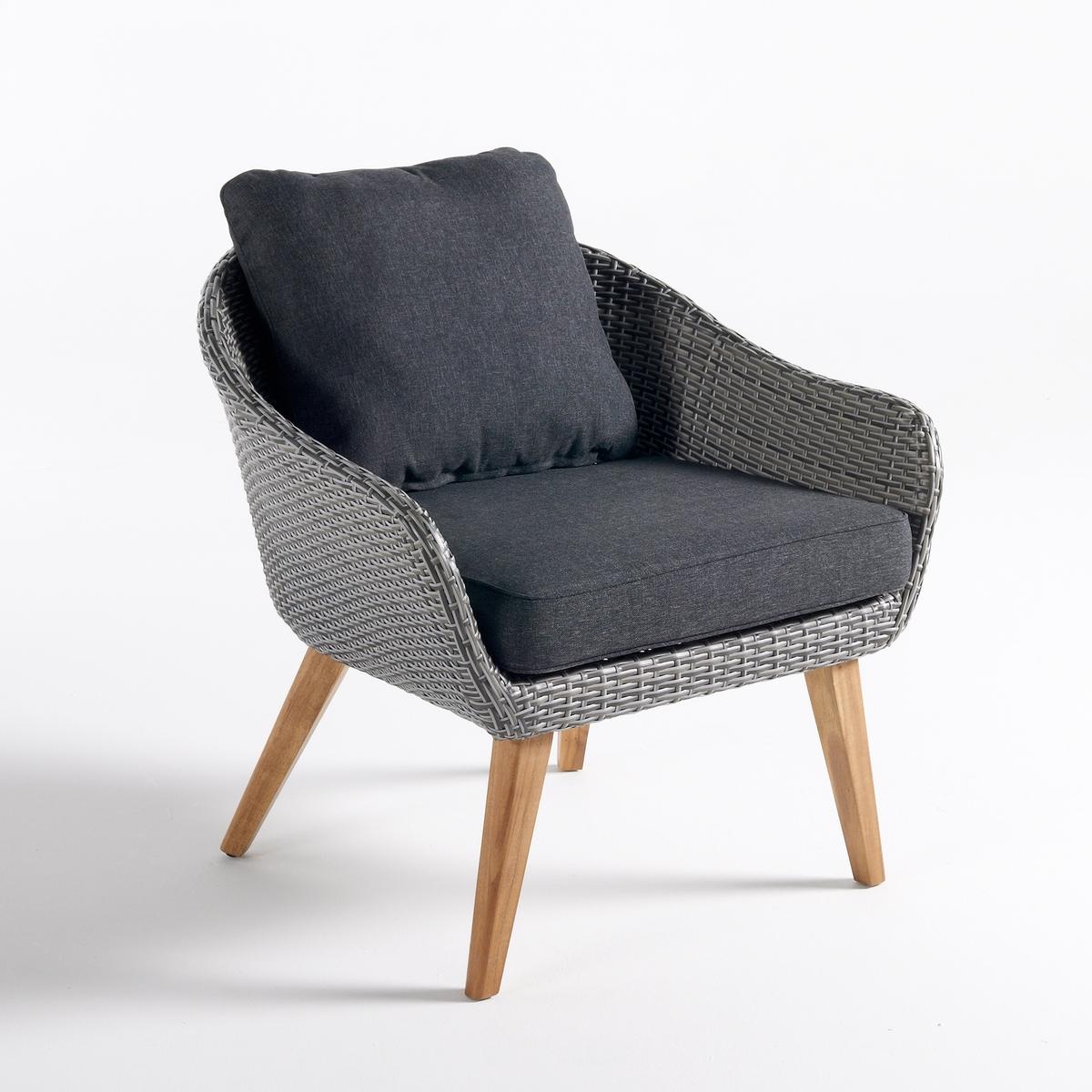 цена Кресло La Redoute Садовое GRIGIO единый размер серый онлайн в 2017 году