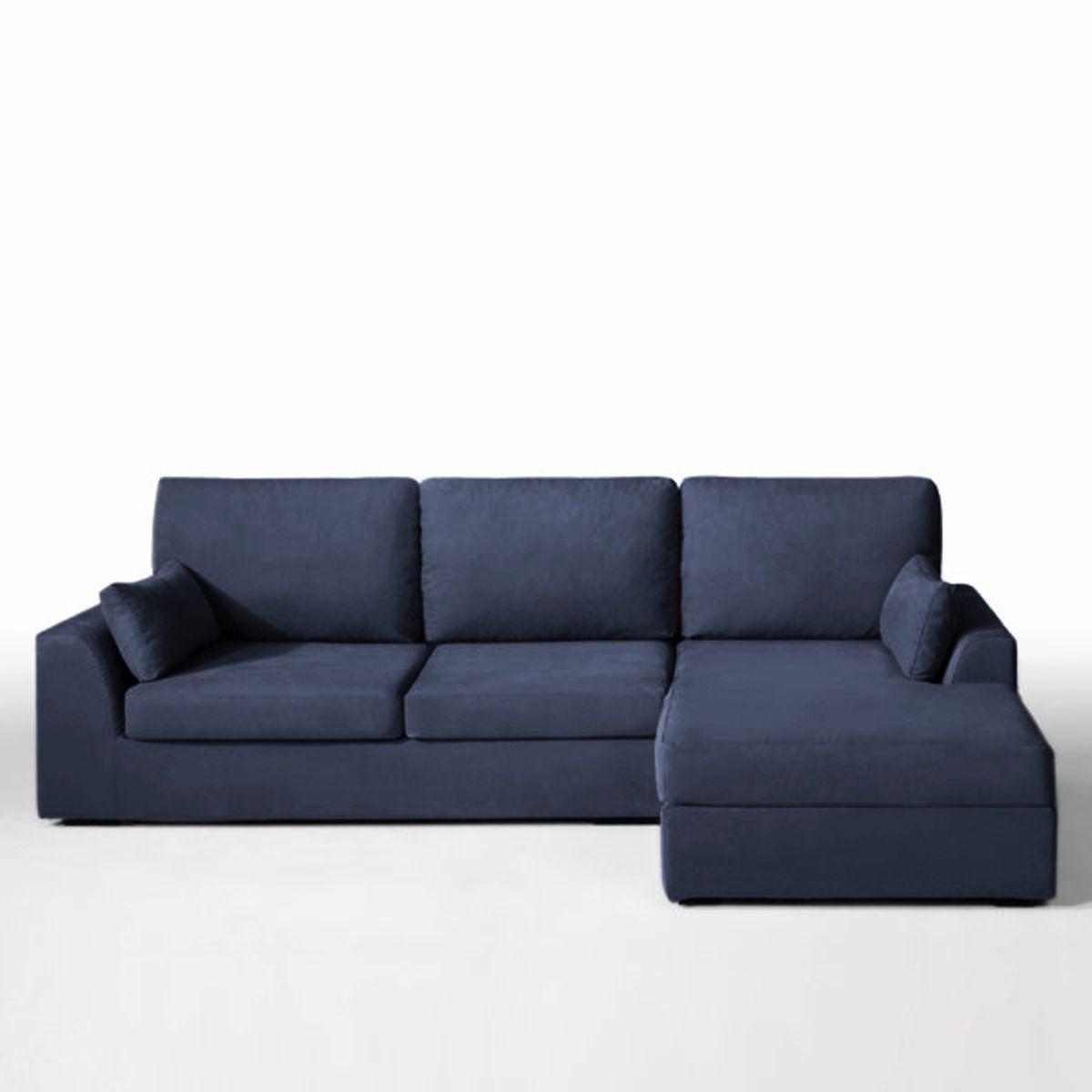 canap d angle convertible madison coton lin. Black Bedroom Furniture Sets. Home Design Ideas