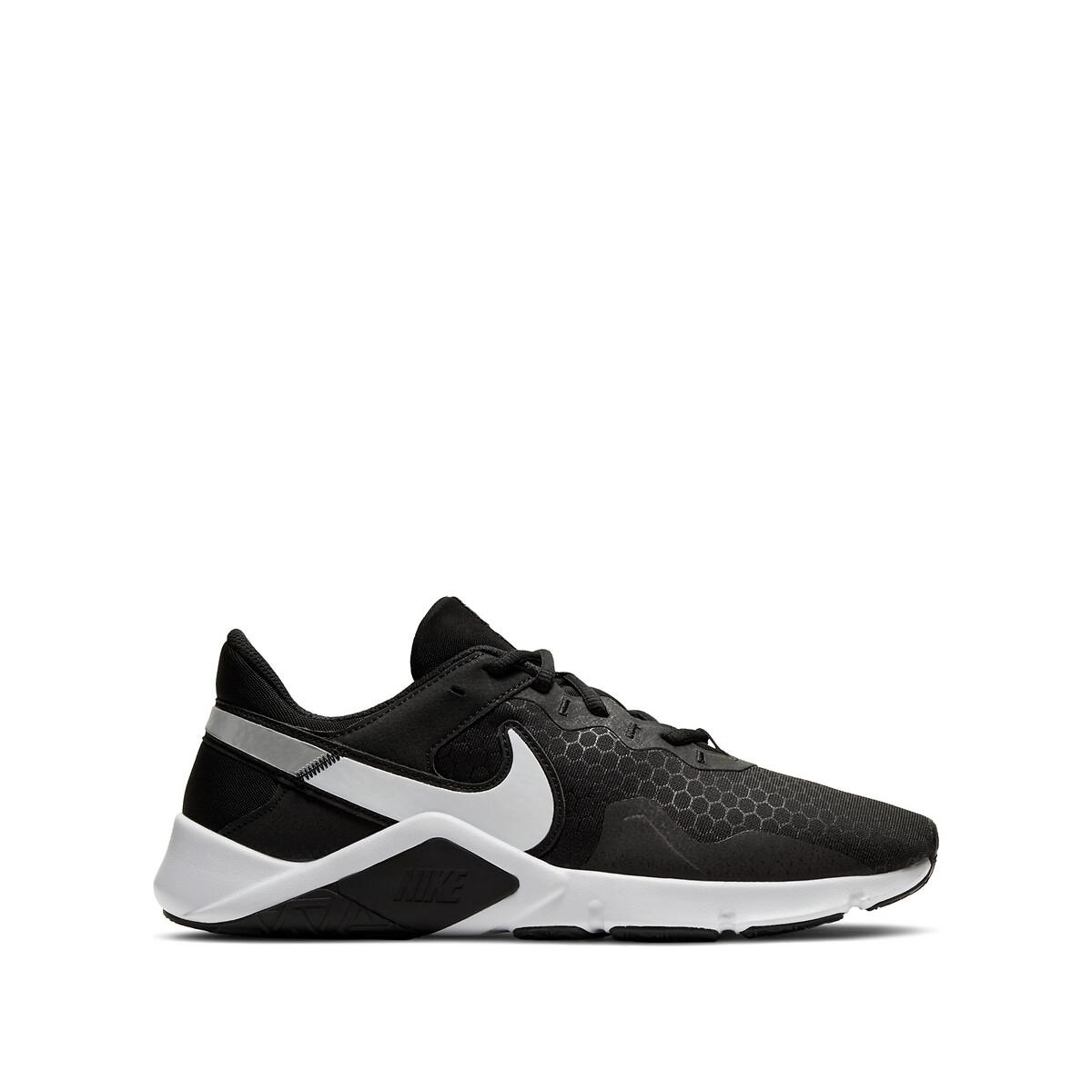 Nike Legend Essential 2 Heren Black/Metallic Silver/White Heren online kopen