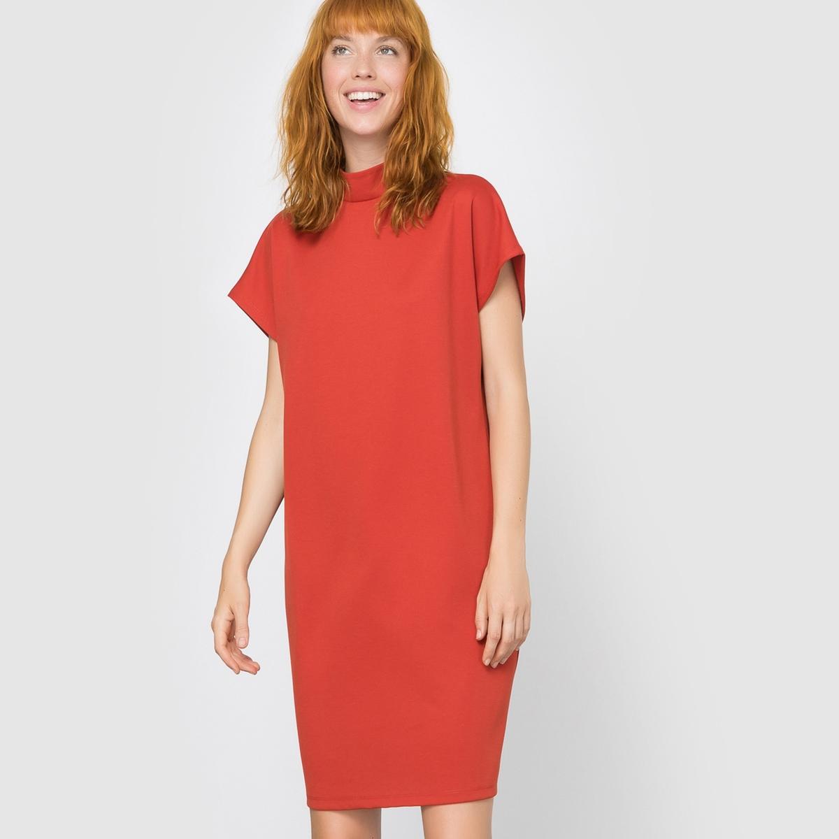 Платье прямого покрояСостав и описание:     Материал        95% полиэстера, 5% эластана     Марка        VILA          Уход     Соблюдайте рекомендации по уходу, указанные на этикетке<br><br>Цвет: красный<br>Размер: XS.S
