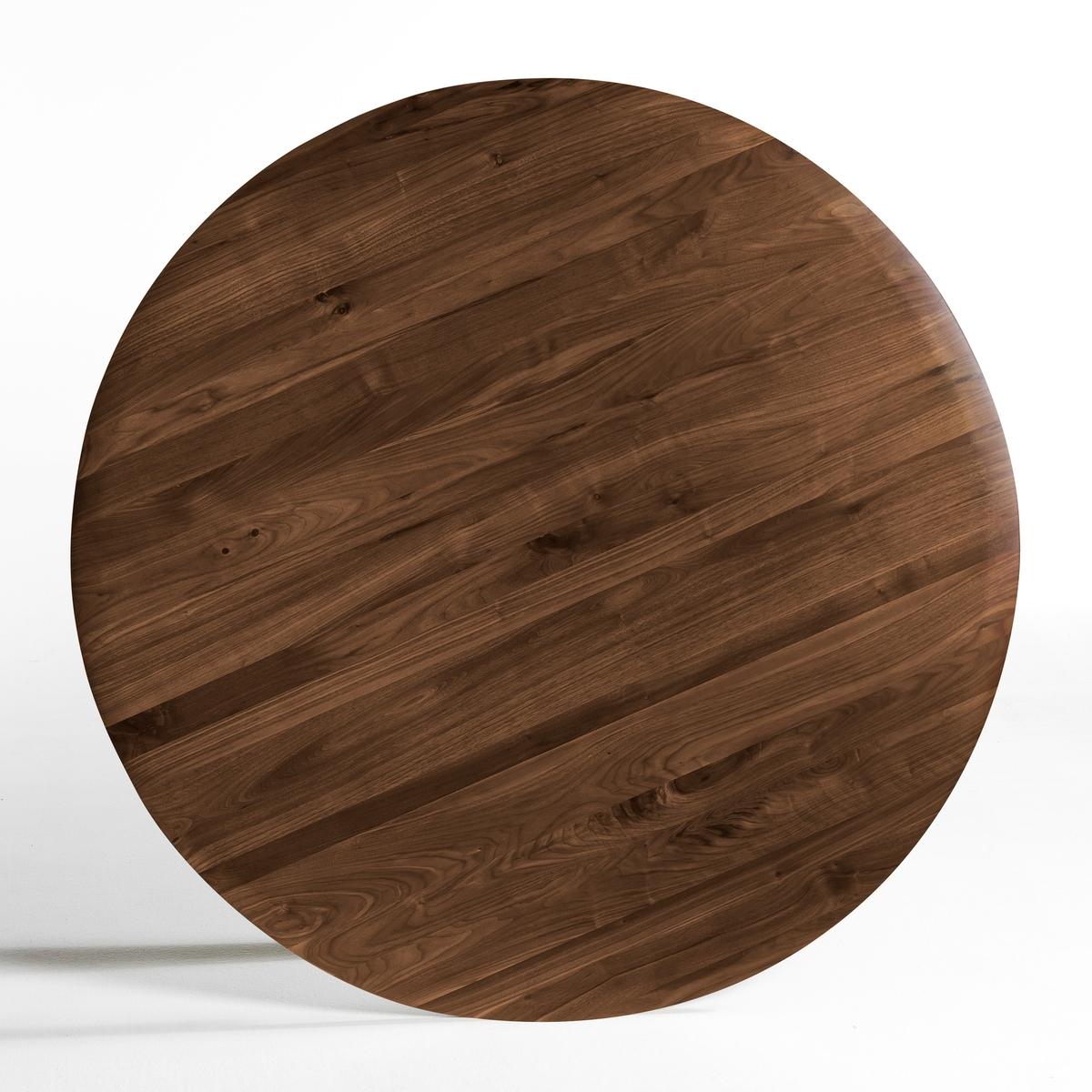 Столешница из массива орехового дерева, ?120 см, HisiaСтолешница из массива орехового дерева Hisia. Столешница, сочетается с металлической ножкой в форме тюльпана Hisia, представленной на нашем сайте.Характеристики:- Столешница из массива орехового дерева с отделкой полиуретановым лаком.Размеры:- ?120 см, толщина 2 смРазмеры и вес упаковки:Ш.127 x В.9 x Г.127 см, 23 кг<br><br>Цвет: ореховый