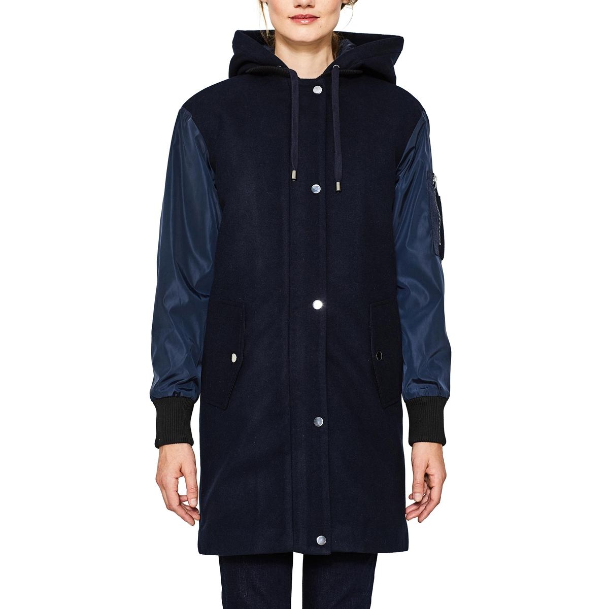 Abrigo con capucha