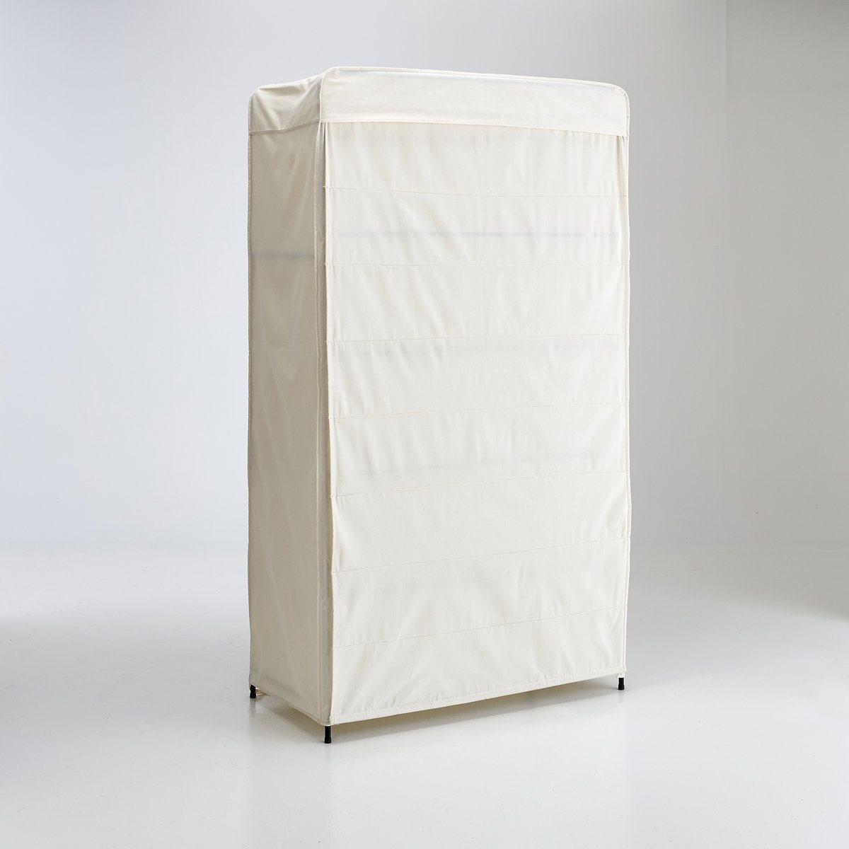 Шкаф для гардероба, Valiceшкаф для гардероба Valice, легкий и простой в монтаже, закрывается шторкой на веревках . 5 полок.                                                                                                                                              Описание шкафа для гардероба Valice :Покрытие из текстиля, отделка шнурком  .Закрывается шторкой на веревках .5 полок Характеристики шкафа для гардероба Valice :Каркас, подвесные перекладины и решетчатые полки из металла, покрытого матовой черной эпоксидной эмалью.Съемное покрытие из поликоттона (230гр) с отделкой шнурком .Найдите другие шкафы для гардероба на нашем сайте .Размеры шкафа для гардероба Valice :Общие :Ширина : 107 смВысота : 190,5 см Глубина : 51,5 см Внутри :бельевой полки : 104 x 96 x 48 см Размер и вес с упаковкой :1 упаковка109 x 54 x 10 см 12,8 кг Доставка :Шкаф для гардероба Valice продается готовым к сборке . Доставка шкафа осуществляется до квартиры !Внимание ! Убедитесь, что посылку возможно доставить на дом, учитывая ее габариты.<br><br>Цвет: экрю