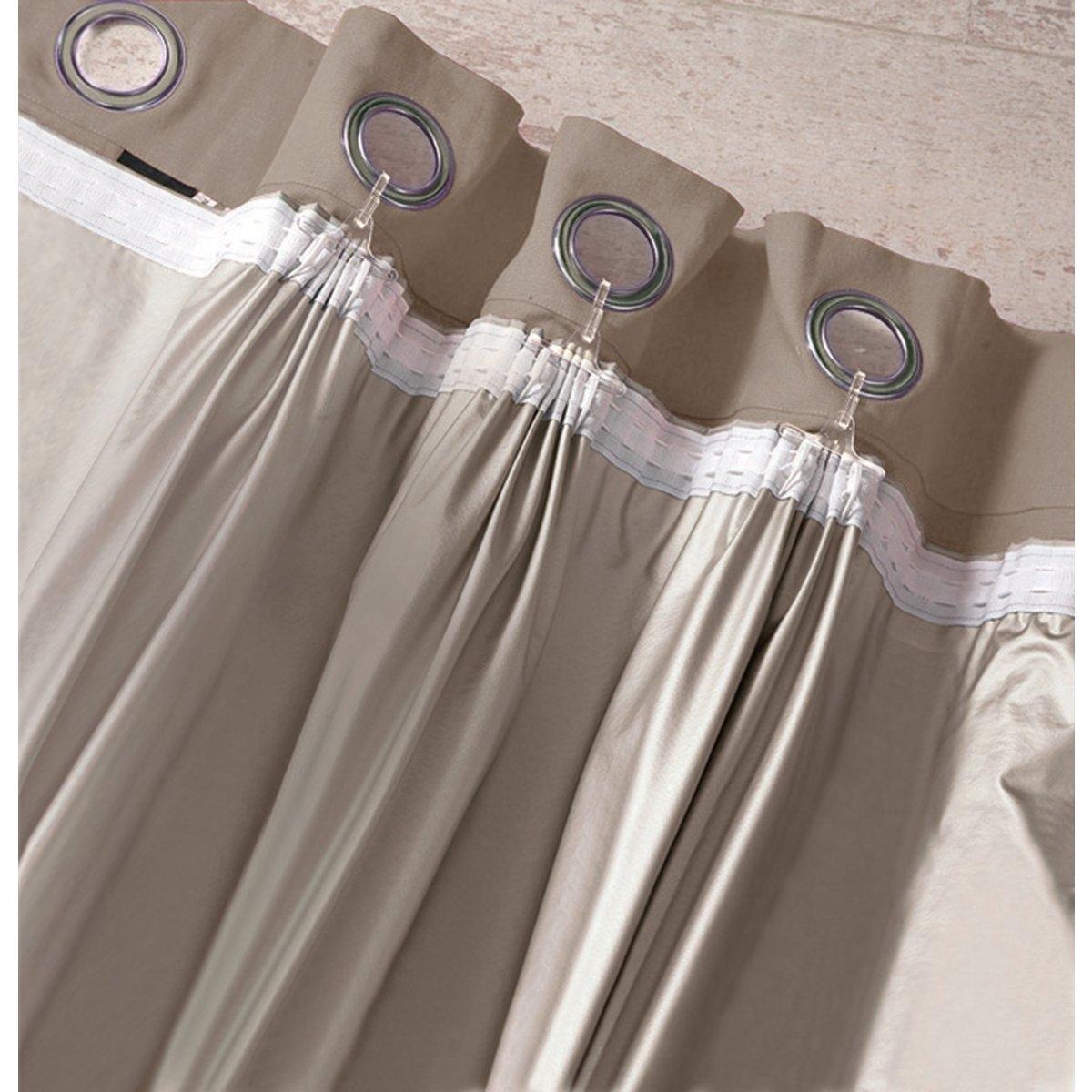 Затемняющая подкладка для шторХарактеристики :- Металлизированный текстиль, 100% полиамида с пропиткой из ПВХ и полиуретана.- Поставляется с 3 видами креплений, подходящих для всех видов штор.- Машинная стирка при 40 °С.Преимущества : пару взмахов ножницами (не нужно подшивать), и подкладка готова к креплению !<br><br>Цвет: серо-коричневый каштан