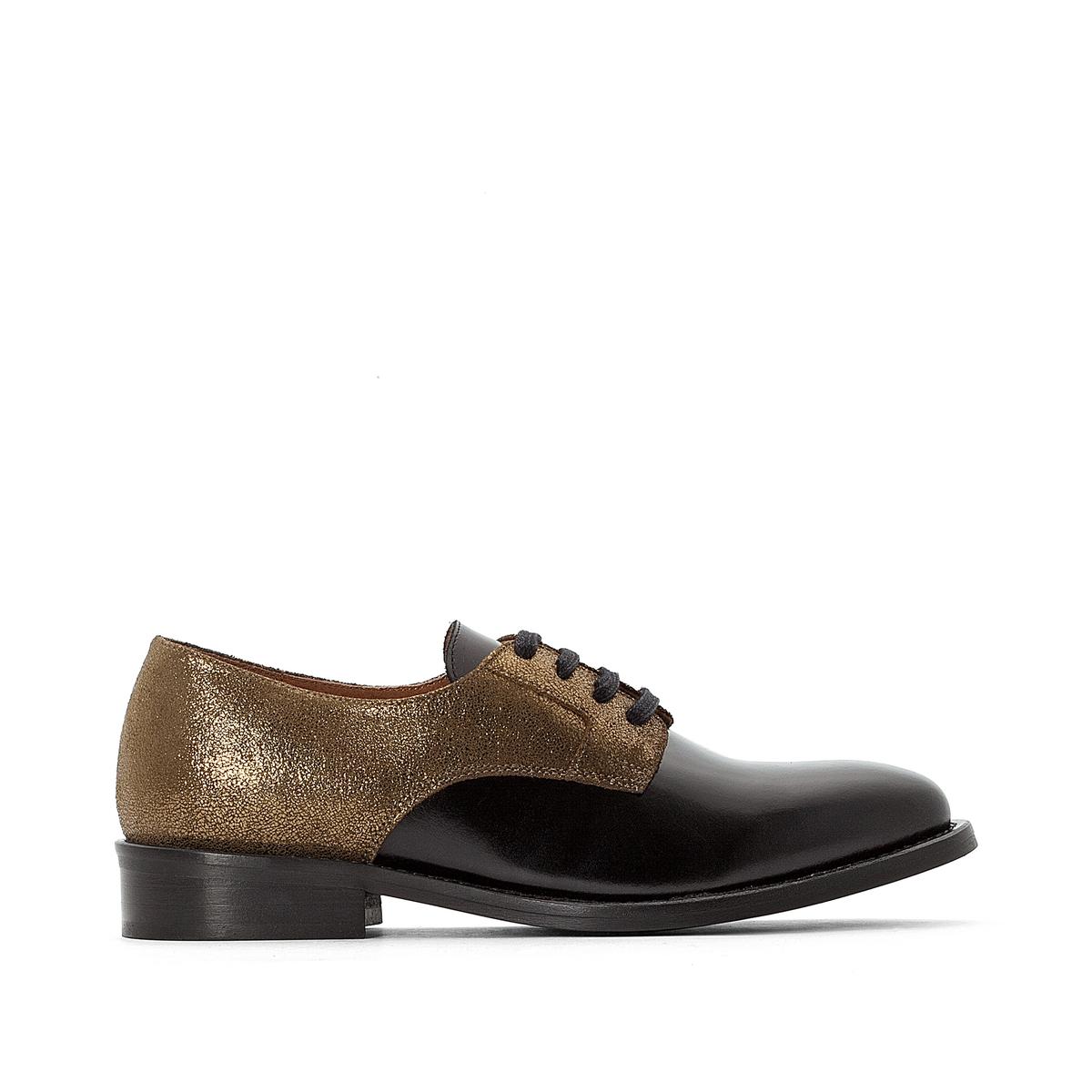 Ботинки-дерби из кожи Эксклюзив от La Redoute ботинки дерби из кожи dagonet