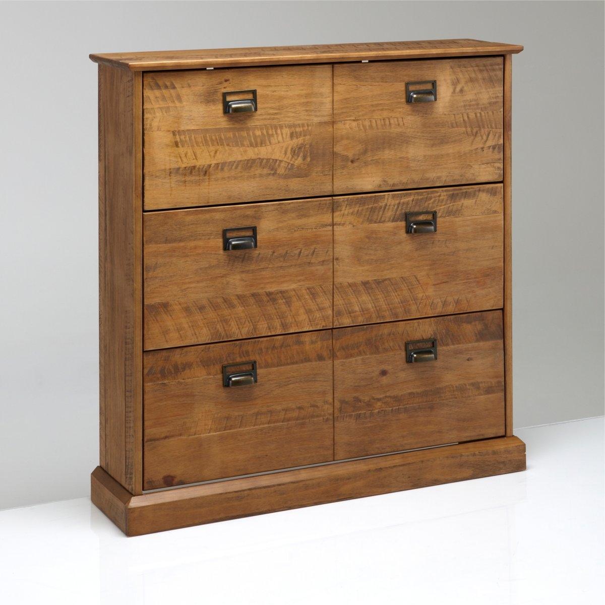 Комод для обуви с 3 ящиками Lindley деревянная заготовка мини комод с 6 ящиками no name 146309