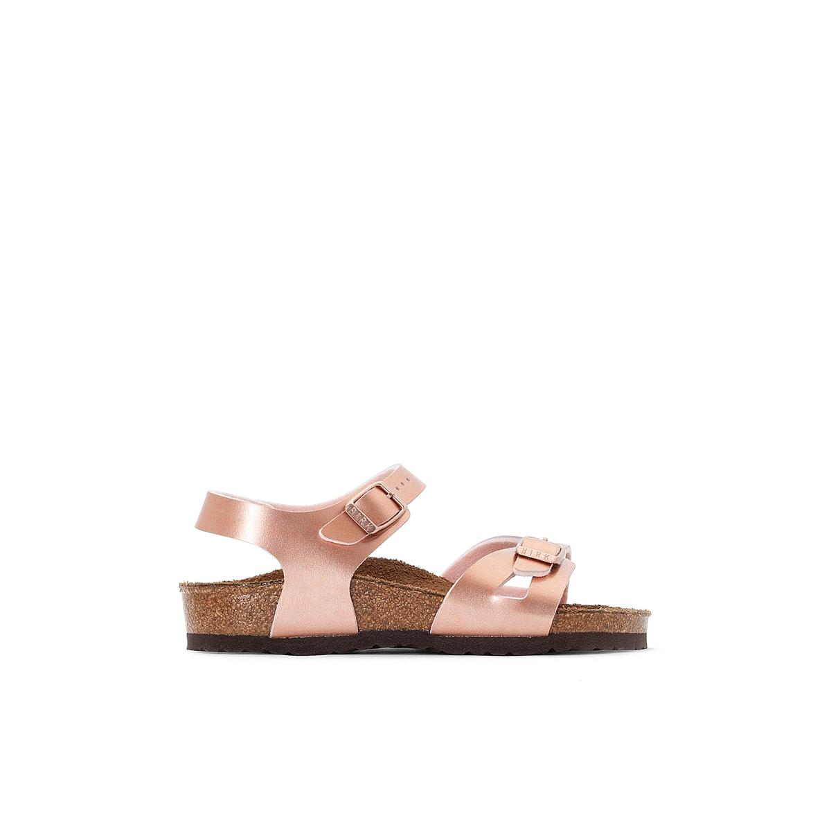 Босоножки на плоском каблуке Rio, размеры 24-38 сапоги кожаные на плоском каблуке 1137