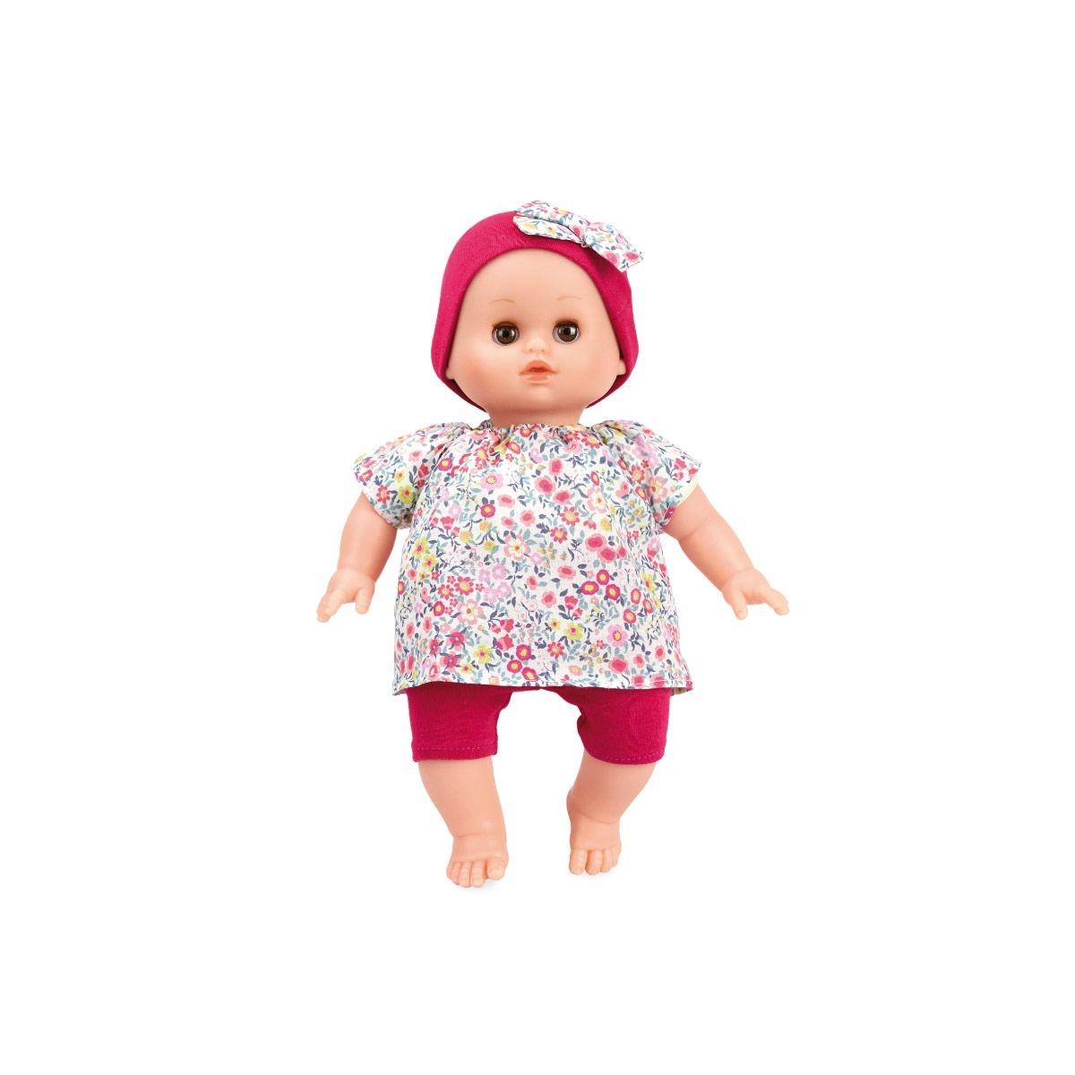 Bébé Petit Câlin 28 cm - Ecolo doll - Habillage Anémone