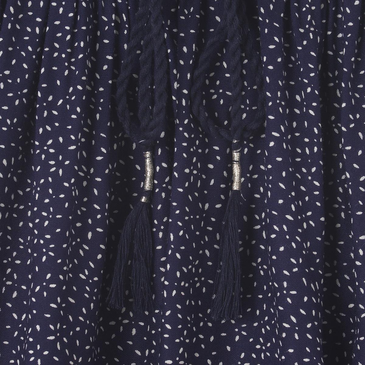 Юбка плиссированная расклешенная, 3-12 летРасклешенная плиссированная юбка. Полностью эластичный пояс в рубчик на завязках с серебристой деталью.Состав и описание : Материал       100% вискозаДлина    до середины бедра  Марка       abcdR Уход :Машинная стирка при 30 °C с вещами схожих цветов.Стирать и гладить с изнаночной стороны..Машинная сушка запрещена.Гладить на низкой температуре.<br><br>Цвет: набивной рисунок<br>Размер: 6 лет - 114 см.3 года - 94 см