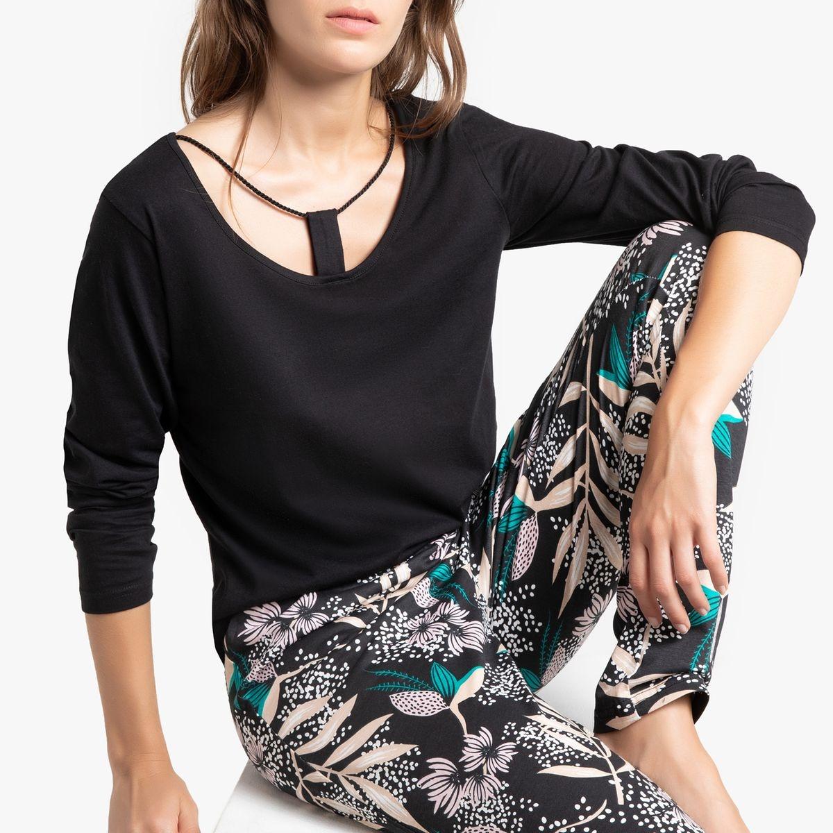 Pyjama pur coton, Herbal