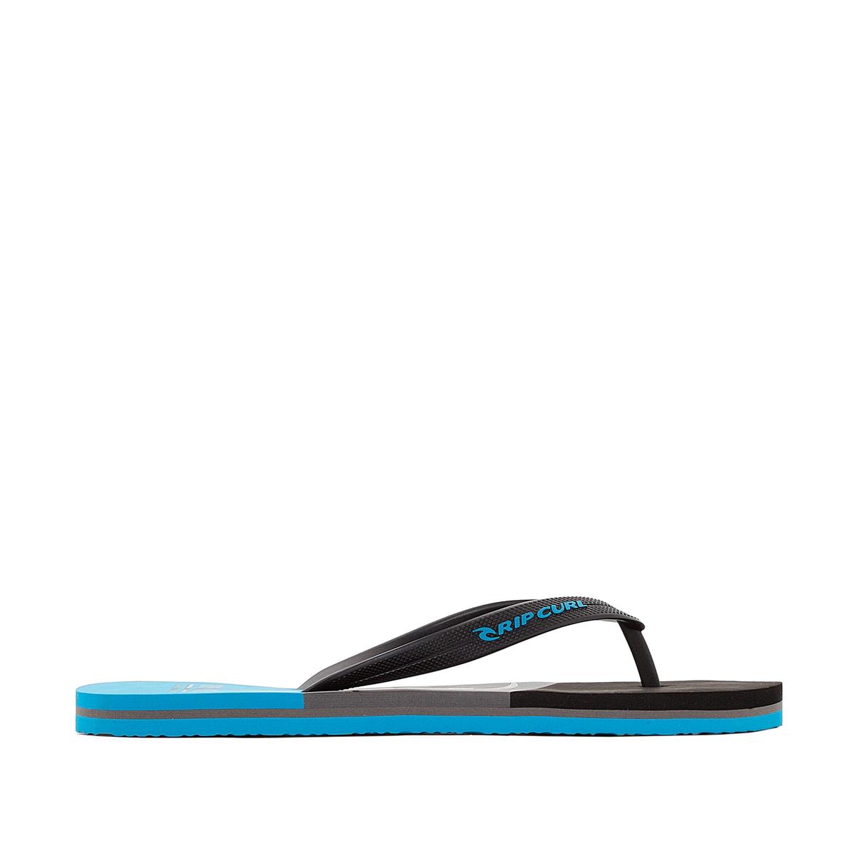 Вьетнамки Slide OutВерх : синтетика   Стелька : синтетика   Подошва : каучук   Форма каблука : плоский каблук   Мысок : открытый мысок   Застежка : без застежки<br><br>Цвет: черный/ синий