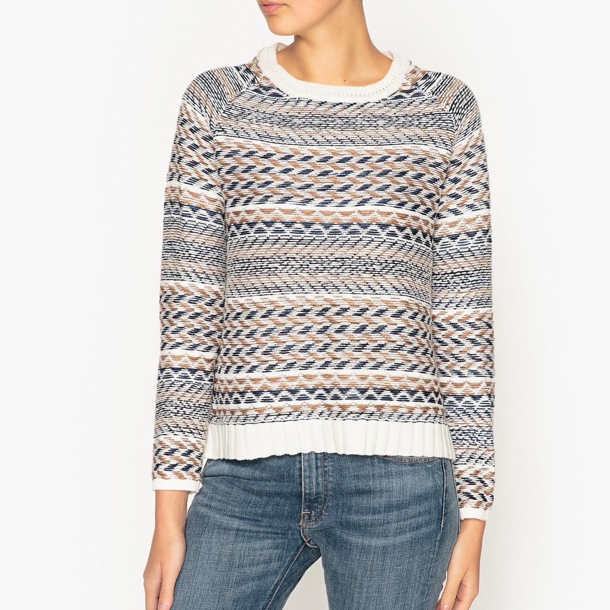 Пуловер жаккардовый трикотажный CHENE