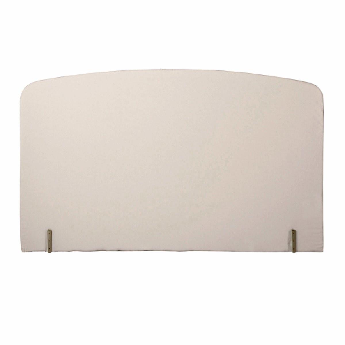 Изголовье LaRedoute Кровати с обивкой изогнутой формы 90 см белый односпальные кровати