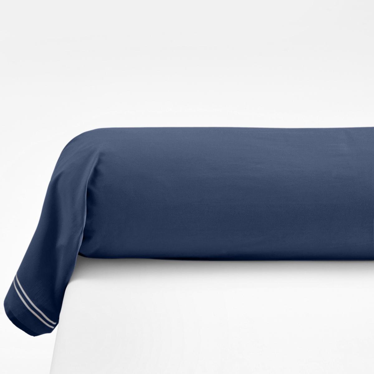 Наволочка на подушку-валик из хлопковой перкали, PalaceХарактеристики наволочек на подушку-валик Palace : - Перкаль, 100% хлопка - настоящий люкс для вашей спальни. Роскошная ткань с очень плотным переплетением нитей (80 нитей/см?), сотканная из длинных хлопковых волокон   . Чем плотнее переплетение нитей/см?, тем выше качество материала.На подушку-валик: двойной кант по краям  .- Машинная стирка при 60°, легко гладить..Знак Oeko-Tex® гарантирует отсутствие вредных для здоровья человека веществ в протестированных и сертифицированных изделиях.Размеры :85 x 185 см : Наволочка на подушку-валик   .Найдите комплект постельного белья по названию Palace<br><br>Цвет: серый/розовая пудра,темно-синий/серый