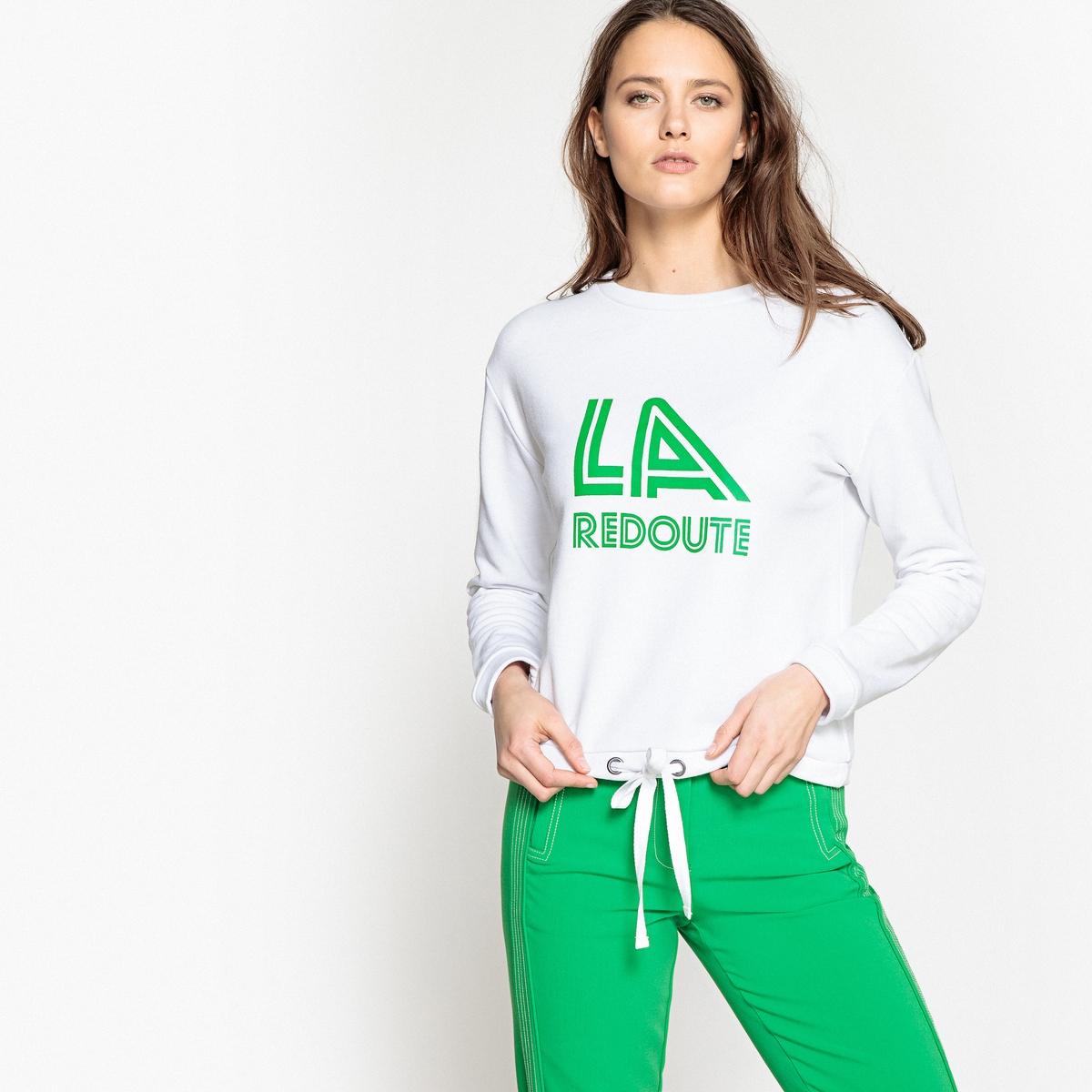 Свитшот с логотипом в винтажном стиле La Redoute