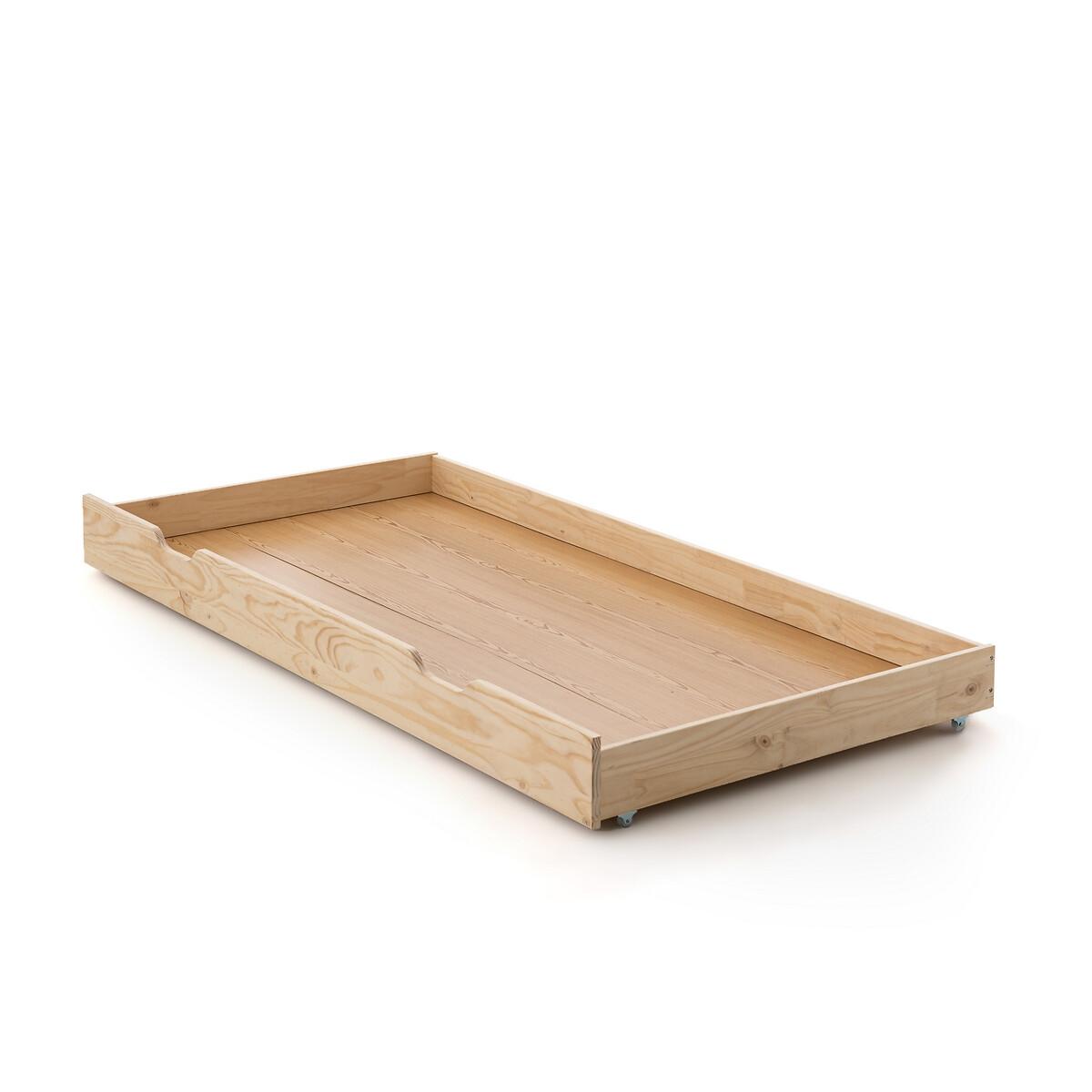 Ящик LaRedoute Хранения для кровати-шатра Archi единый размер синий матрас laredoute с поролоном для кровати ящика 90 x 180 x 12 красный