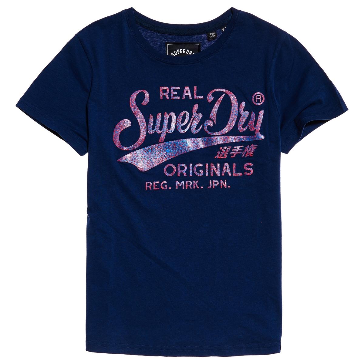 Imagen principal de producto de Camiseta con estampado delante Real Originals - Superdry