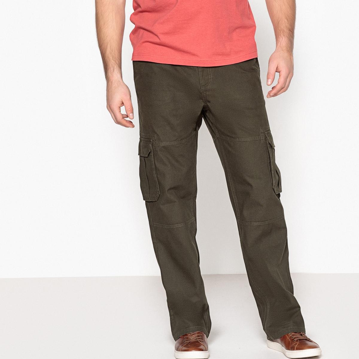Pantaloni cargo, vita elasticizzata