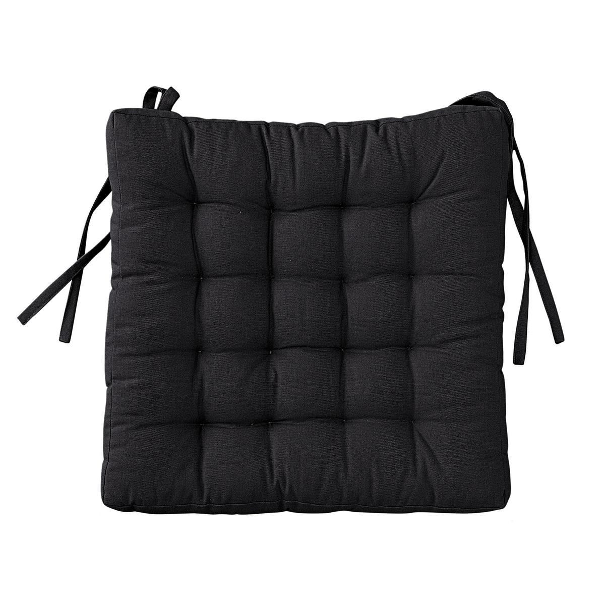 Подушка La Redoute Для стула SCENARIO единый размер черный чехол для стула 128