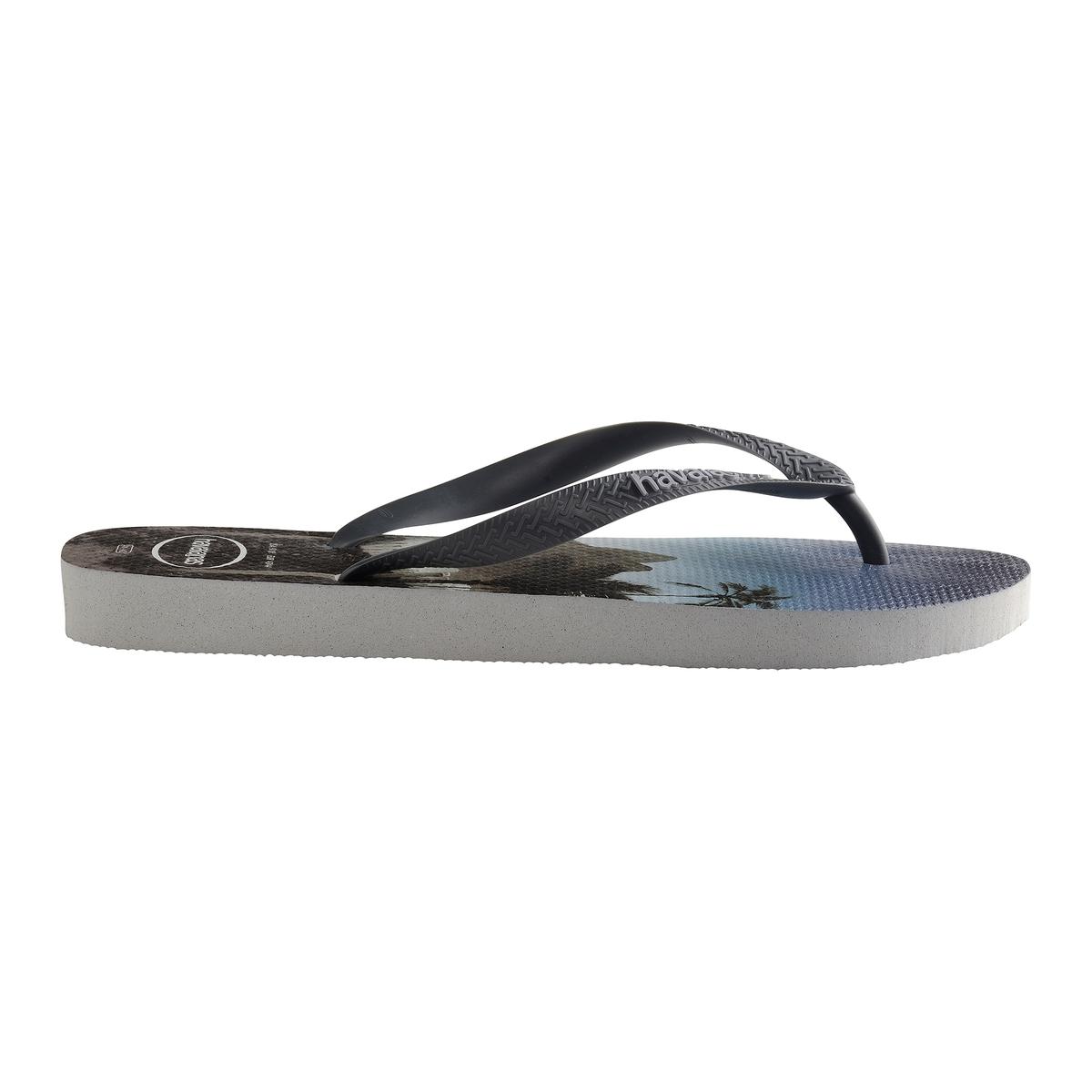 Вьетнамки HypeВерх : каучук   Стелька : каучук   Подошва : каучук   Форма каблука : плоский каблук   Мысок : открытый мысок   Застежка : без застежки<br><br>Цвет: рисунок/серый<br>Размер: 43/44