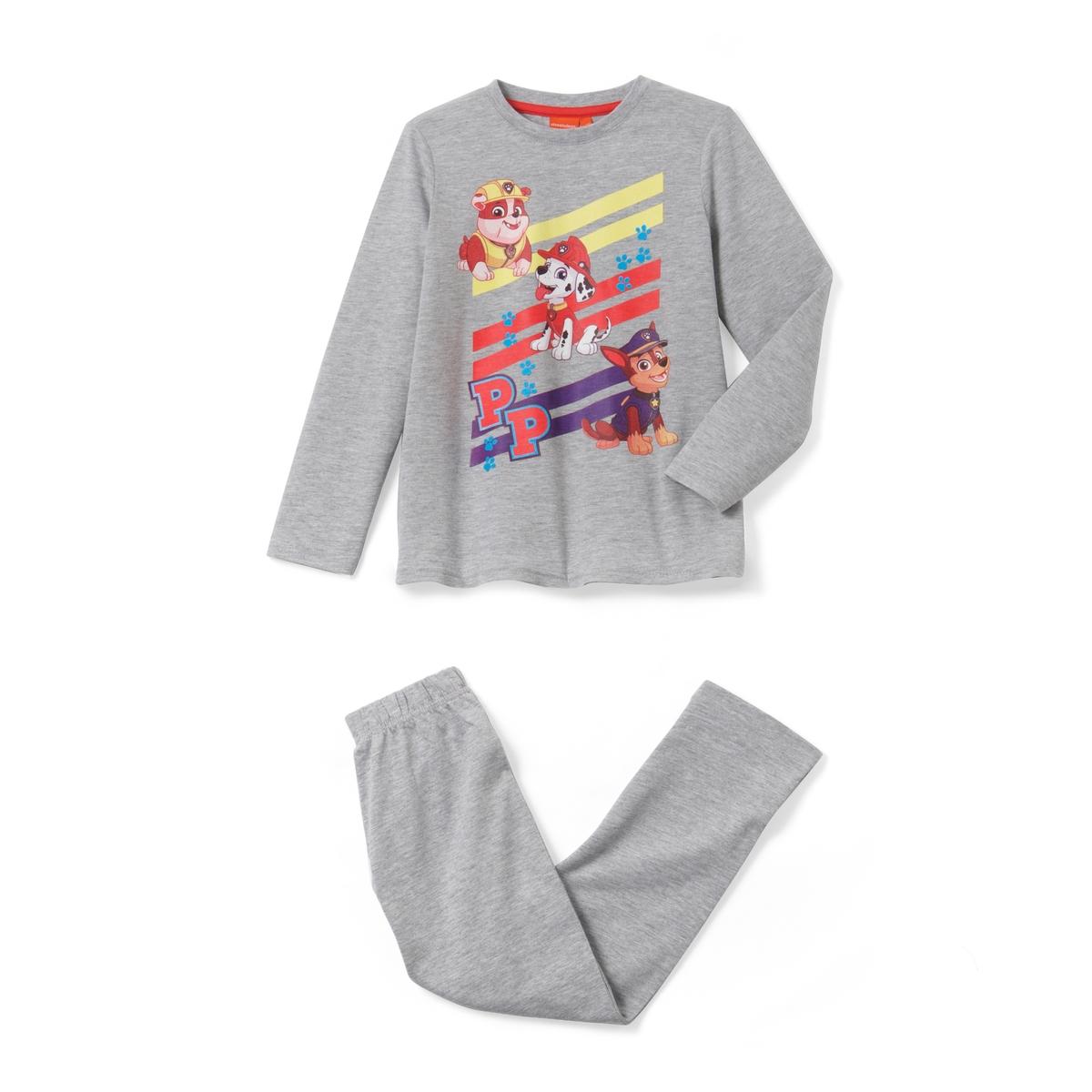 Пижама с принтом, Pat Patrouille, длинные рукава
