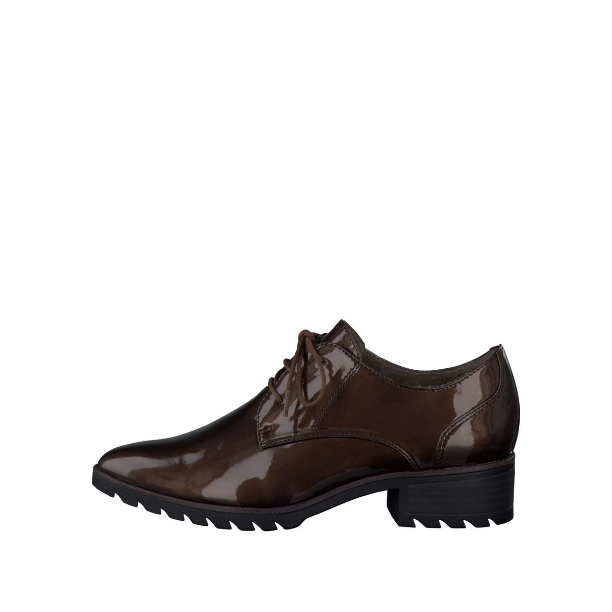 Ботинки-дерби синтетические