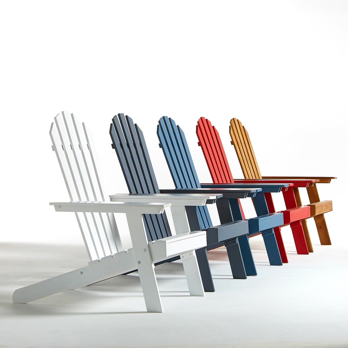 Стильное садовое кресло Adirondack, 3 положения, гамма  Zeda adirondack cuisine