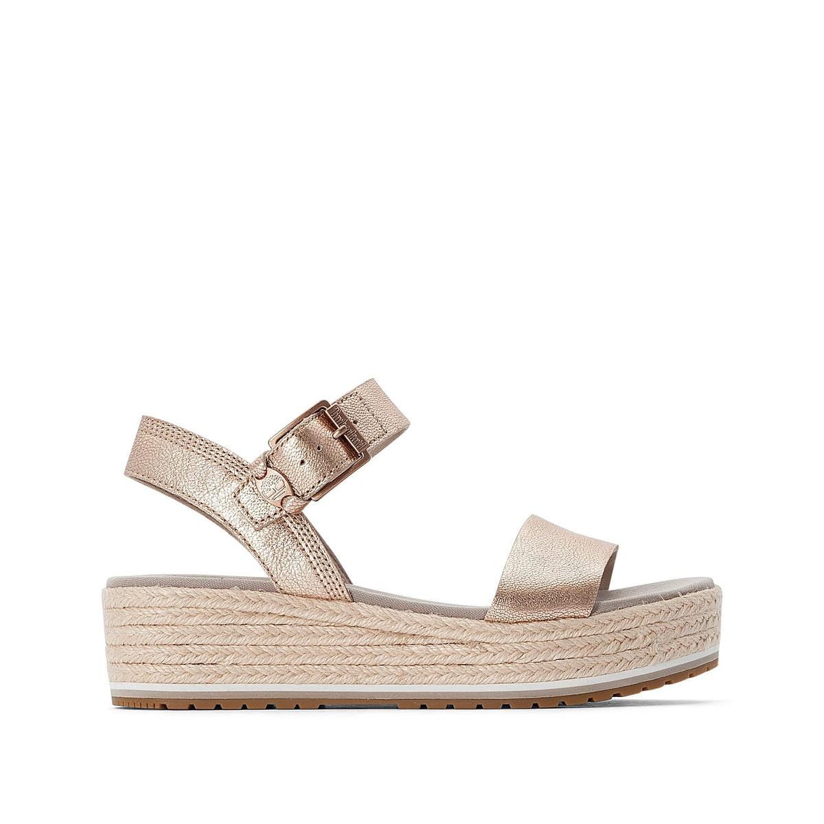 Sandalias de piel Santorini Sun
