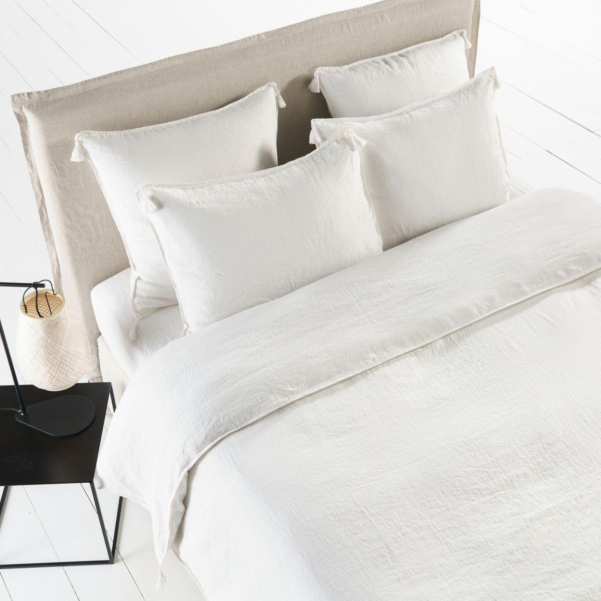 housse de couette en lin lav carly. Black Bedroom Furniture Sets. Home Design Ideas