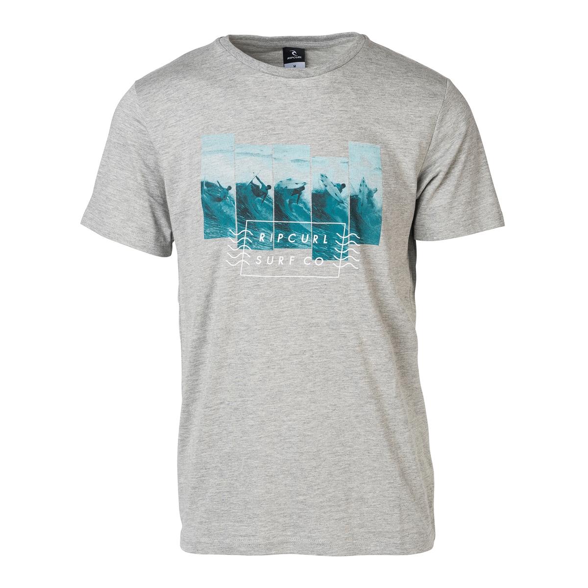 Футболка с круглым вырезом и короткими рукавами футболка rip curl rip curl ri027ewswz94