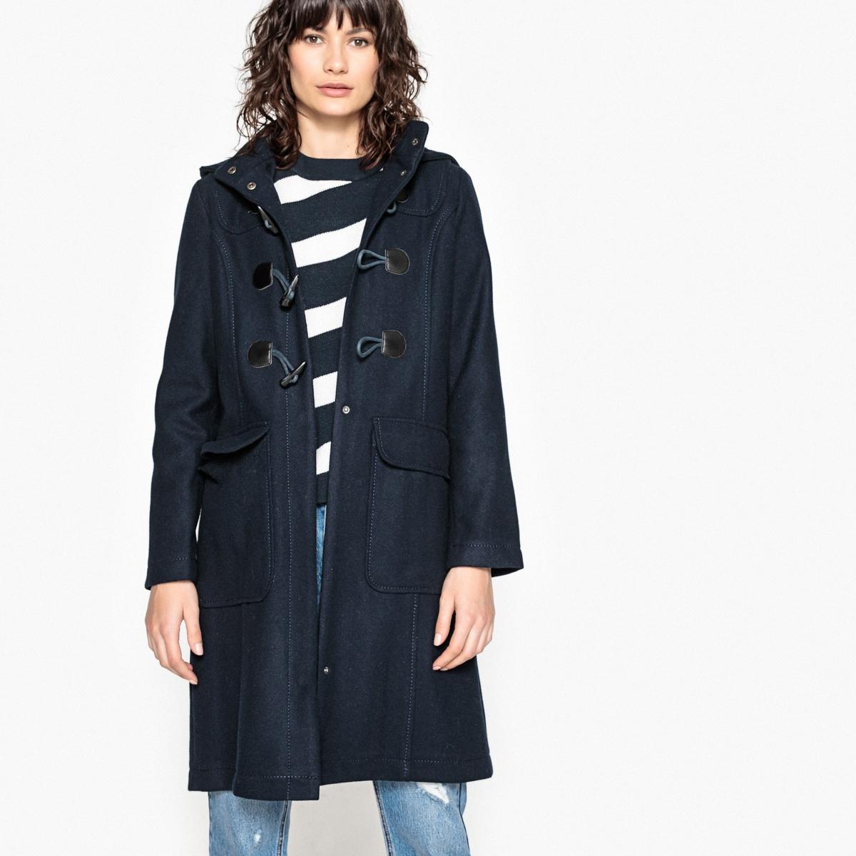 Пальто с капюшономОписание:Пальто из зимнего гардероба под названием дафлкот, оно может сочетаться любым образом . Теплое, практичное и элегантное, его можно носить везде  .Детали •  Длина : удлиненная модель •  Капюшон •  Застежка на молнию •  С капюшономСостав и уход •  50% шерсти, 40% полиэстера, 10% других волокон •  Подкладка : 0% полиэстер • Не стирать •  Любые растворители / не отбеливать •  Не использовать барабанную сушку •  Низкая температура глажки •  Длина : 100 см<br><br>Цвет: зеленый,синий морской<br>Размер: 34 (FR) - 40 (RUS).46 (FR) - 52 (RUS).38 (FR) - 44 (RUS).44 (FR) - 50 (RUS).40 (FR) - 46 (RUS).38 (FR) - 44 (RUS)