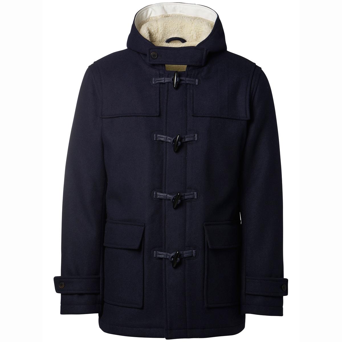 SELECTED Пальто с капюшоном Carlyle в стиле дафлкот